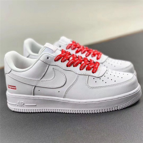 Nike Air Force 1 & Supreme For Men #779634