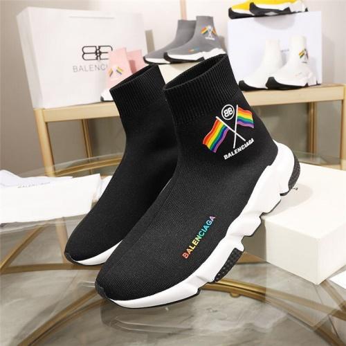 Balenciaga Boots For Men #779657 $78.57, Wholesale Replica Balenciaga Boots