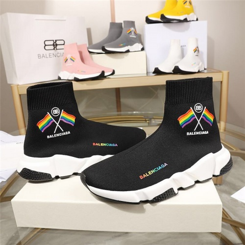 Replica Balenciaga Boots For Men #779657 $78.57 USD for Wholesale