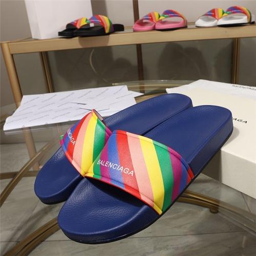 Balenciaga Slippers For Women #779694 $51.41 USD, Wholesale Replica Balenciaga Slippers