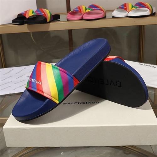 Replica Balenciaga Slippers For Women #779694 $51.41 USD for Wholesale