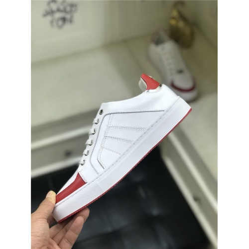 Replica Philipp Plein Casual Shoes For Men #779783 $86.33 USD for Wholesale