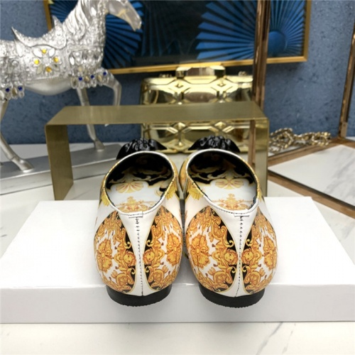 Replica Versace Flat Shoes For Women #779815 $78.57 USD for Wholesale