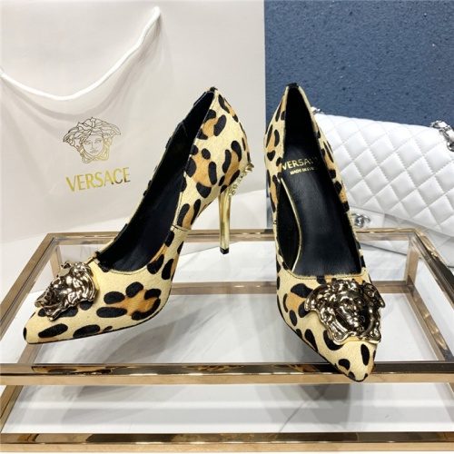 Versace High-Heeled Shoes For Women #779816