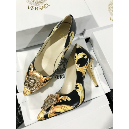 Versace High-Heeled Shoes For Women #779819