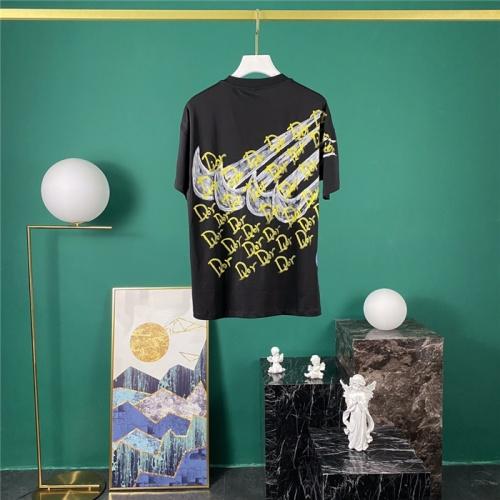 Christian Dior & Nike T-Shirts Short Sleeved O-Neck For Men #779950