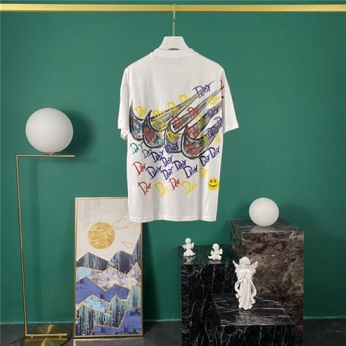 Christian Dior & Nike T-Shirts Short Sleeved O-Neck For Men #779951