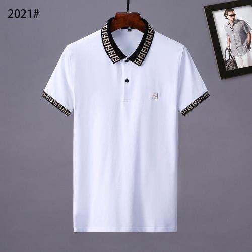 Fendi T-Shirts Short Sleeved Polo For Men #779986