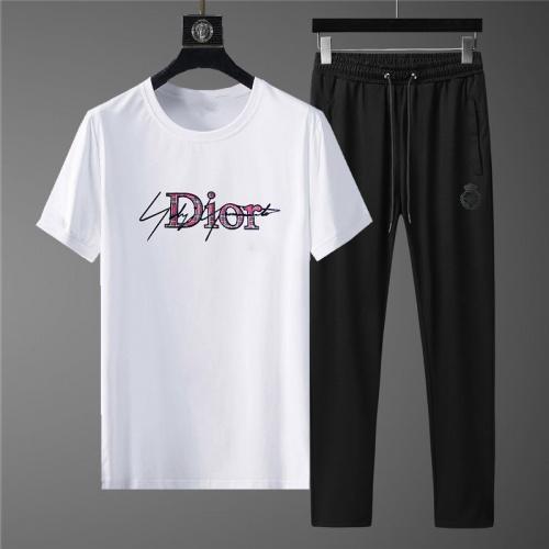 Christian Dior Tracksuits Short Sleeved O-Neck For Men #780329