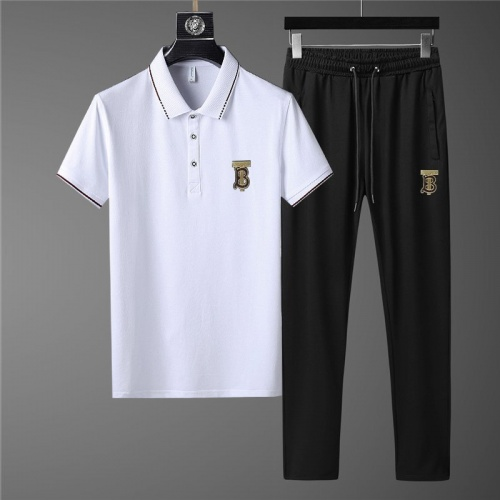 Burberry Tracksuits Short Sleeved Polo For Men #780336