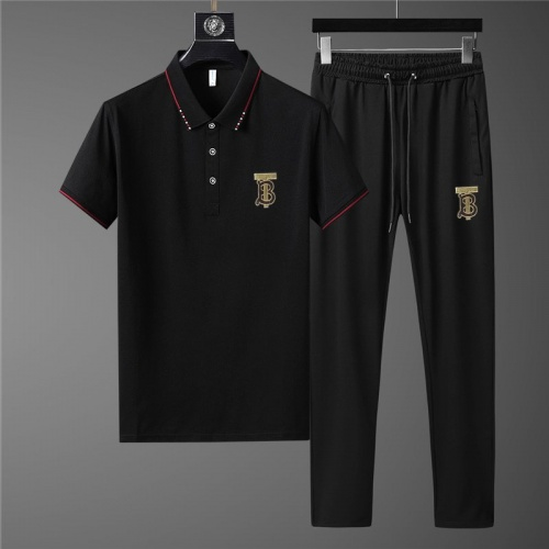 Burberry Tracksuits Short Sleeved Polo For Men #780337