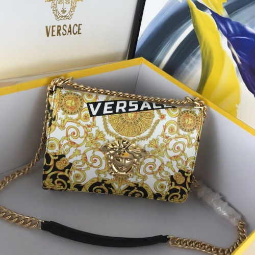 Versace AAA Quality Messenger Bags For Women #780618 $125.13, Wholesale Replica Versace AAA Quality Messenger Bags