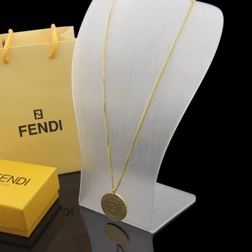 Fendi Necklace #780647 $34.92, Wholesale Replica Fendi Necklace