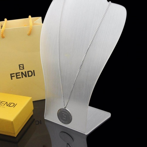 Fendi Necklace #780648 $34.92, Wholesale Replica Fendi Necklace