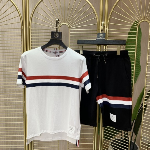 Thom Browne TB Tracksuits Short Sleeved O-Neck For Men #780713