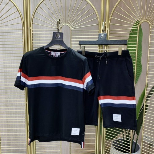 Thom Browne TB Tracksuits Short Sleeved O-Neck For Men #780714