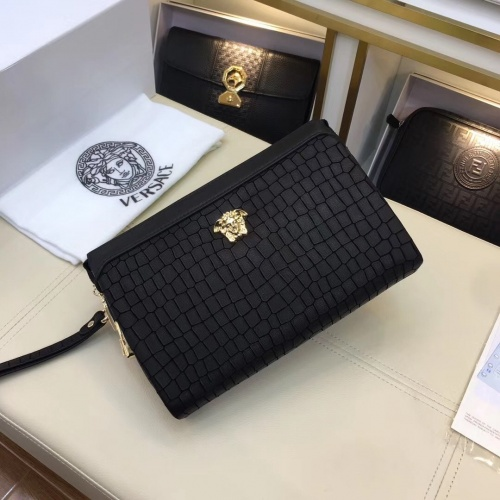 Replica Versace AAA Man Wallets #781143 $83.42 USD for Wholesale