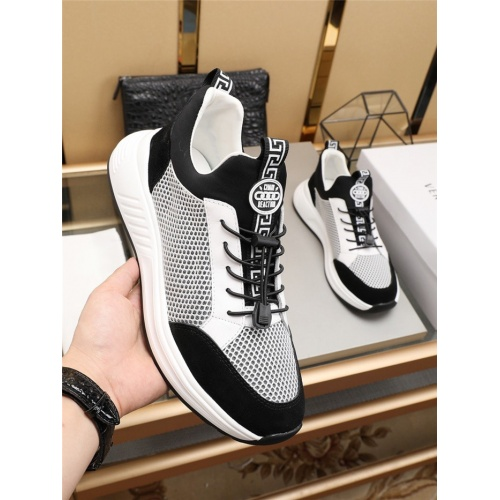 Replica Versace Casual Shoes For Men #781173 $73.72 USD for Wholesale