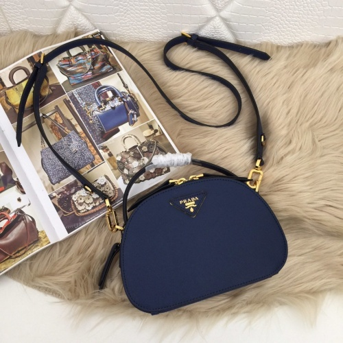 Prada AAA Quality Messeger Bags For Women #781279 $86.33, Wholesale Replica Prada AAA Quality Messeger Bags
