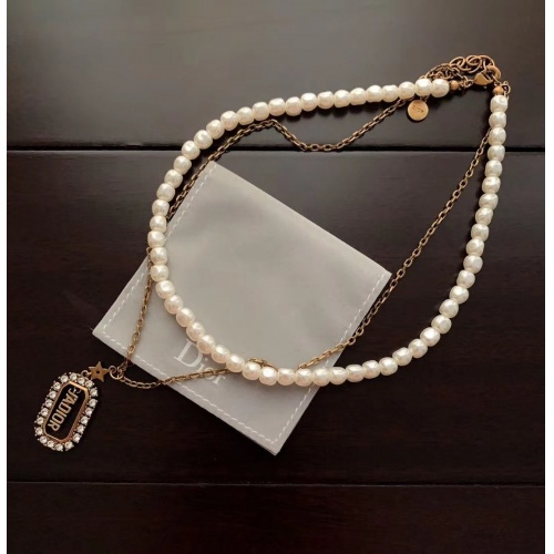 Christian Dior Necklace #781297 $37.83, Wholesale Replica Christian Dior Necklace