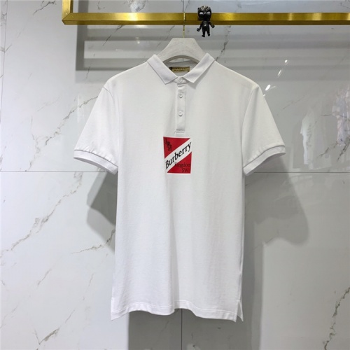 Burberry T-Shirts Short Sleeved Polo For Men #781660