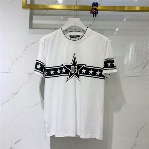 Dolce & Gabbana D&G T-Shirts Short Sleeved O-Neck For Men #781664