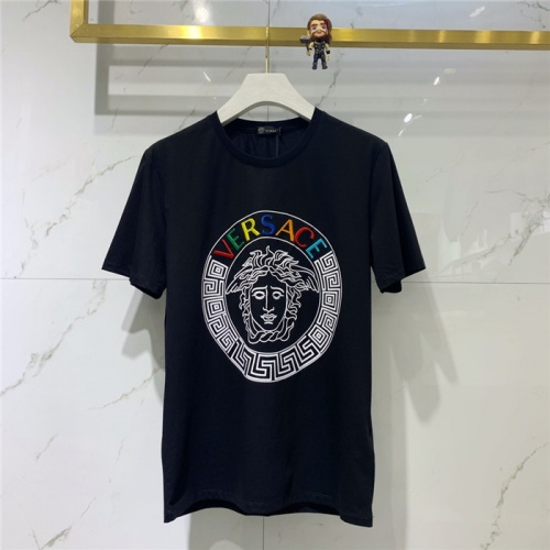 Versace T-Shirts Short Sleeved O-Neck For Men #781677