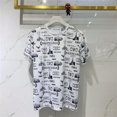 Balenciaga T-Shirts Short Sleeved O-Neck For Men #781683