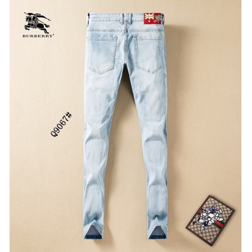 Replica Burberry Jeans Trousers For Men #781720 $40.74 USD for Wholesale