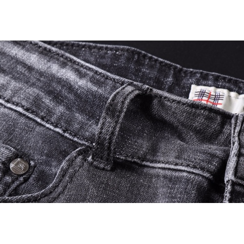 Replica Burberry Jeans Trousers For Men #781721 $40.74 USD for Wholesale