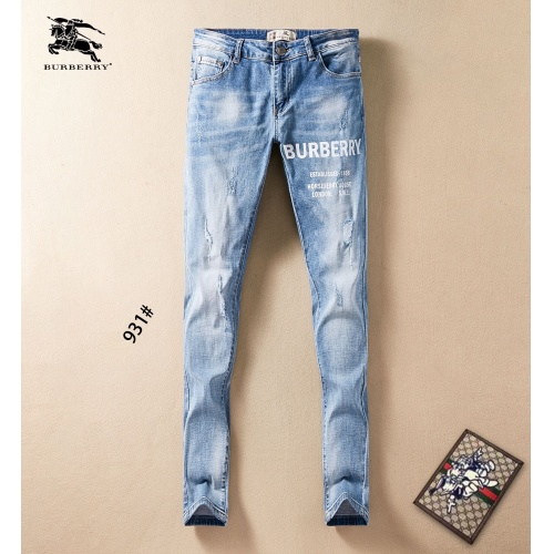Burberry Jeans Trousers For Men #781723 $40.74 USD, Wholesale Replica Burberry Jeans
