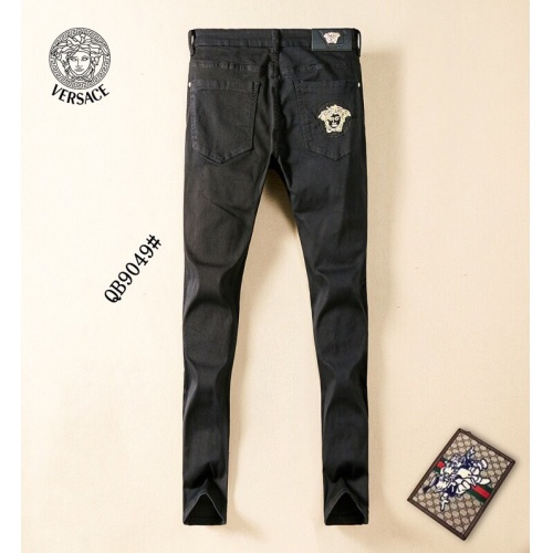 Replica Versace Jeans Trousers For Men #781724 $40.74 USD for Wholesale
