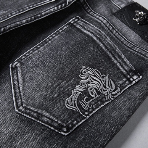 Replica Versace Jeans Trousers For Men #781726 $40.74 USD for Wholesale