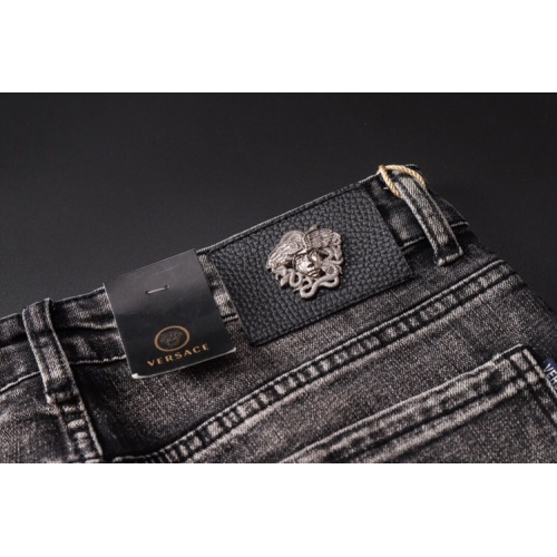 Replica Versace Jeans Trousers For Men #781727 $40.74 USD for Wholesale