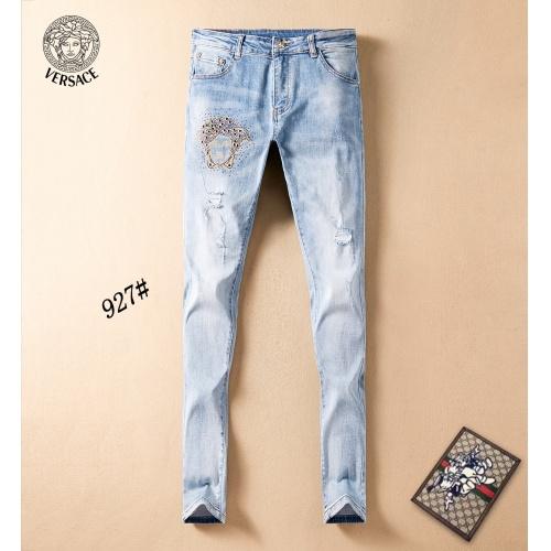 Versace Jeans Trousers For Men #781730 $40.74, Wholesale Replica Versace Jeans