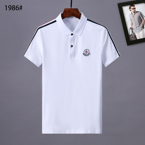 Moncler T-Shirts Short Sleeved Polo For Men #781760