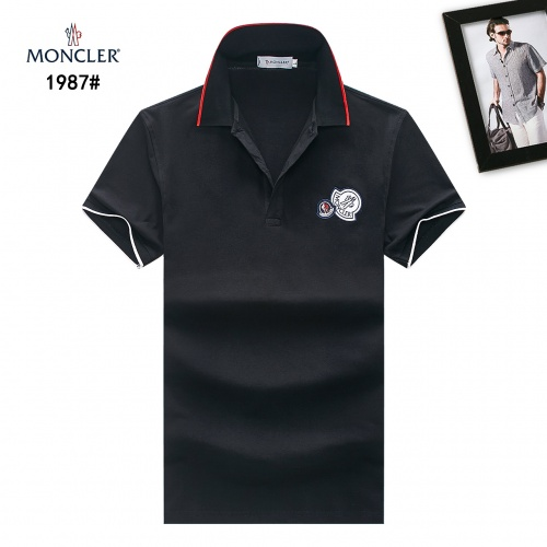 Moncler T-Shirts Short Sleeved Polo For Men #781764