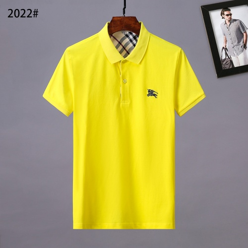 Burberry T-Shirts Short Sleeved Polo For Men #781790