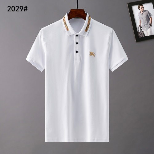 Burberry T-Shirts Short Sleeved Polo For Men #781798
