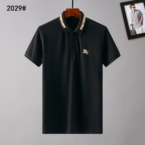 Burberry T-Shirts Short Sleeved Polo For Men #781800