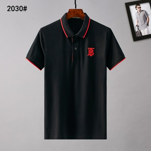 Burberry T-Shirts Short Sleeved Polo For Men #781807