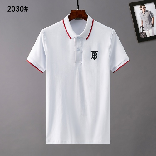 Burberry T-Shirts Short Sleeved Polo For Men #781808