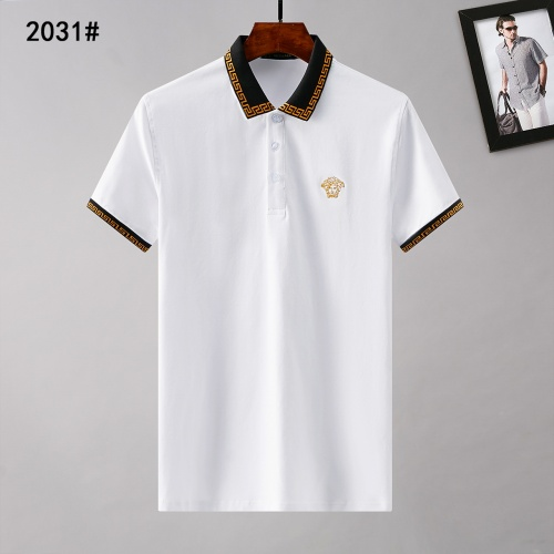 Versace T-Shirts Short Sleeved Polo For Men #781809