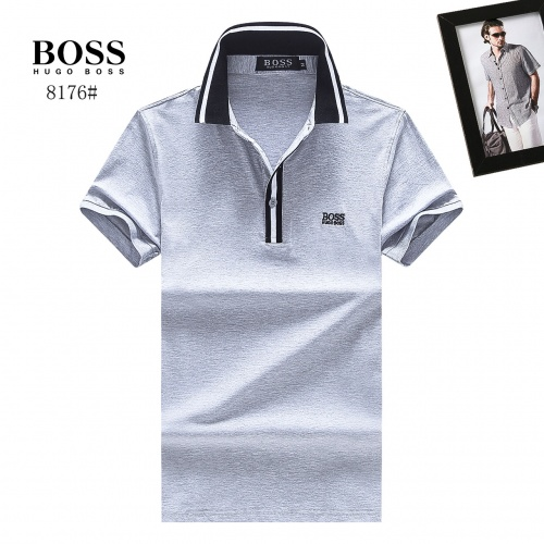 Boss T-Shirts Short Sleeved Polo For Men #781812