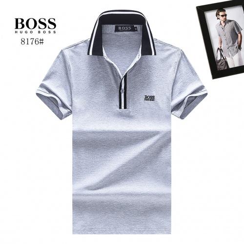 Boss T-Shirts Short Sleeved Polo For Men #781812