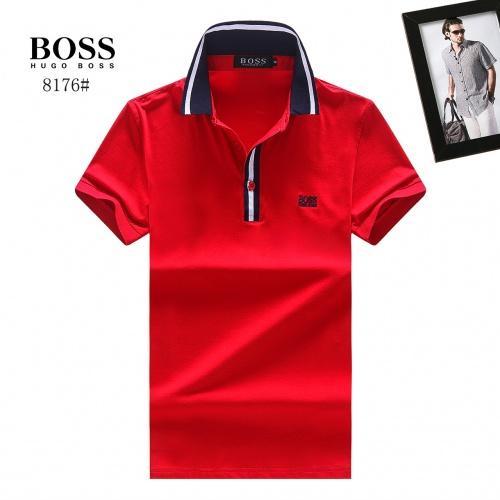 Boss T-Shirts Short Sleeved Polo For Men #781813