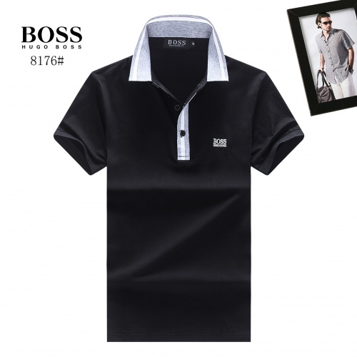 Boss T-Shirts Short Sleeved Polo For Men #781814