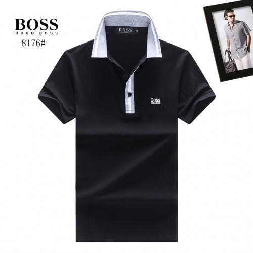 Boss T-Shirts Short Sleeved Polo For Men #781814