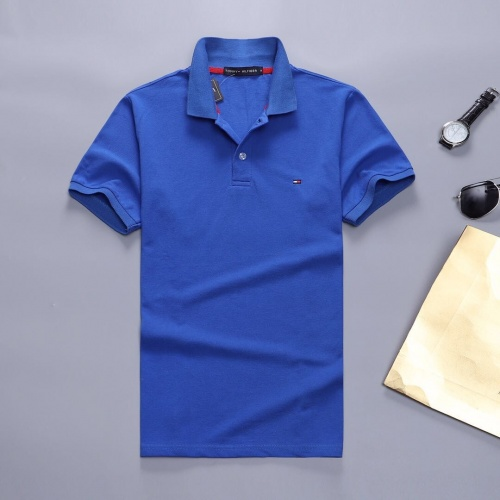 Tommy Hilfiger TH T-Shirts Short Sleeved Polo For Men #781828