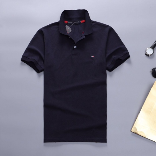 Tommy Hilfiger TH T-Shirts Short Sleeved Polo For Men #781830 $23.28 USD, Wholesale Replica Tommy Hilfiger TH T-Shirts
